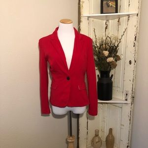 Tops - Clearance! Red Blazer
